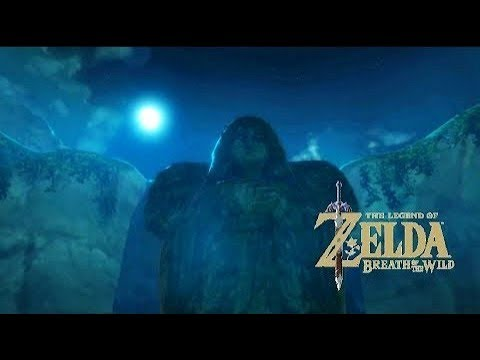Relaxing Zelda Breath Of The Wild Music + Night Ambience Sound