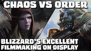 CHAOS vs ORDER in the Battle for Azeroth trailer - Blizzard's excellent filmmaking