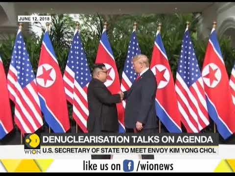 Mike Pompeo meet with North Korean envoy delayed