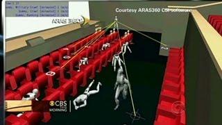 Software recreates 3D Aurora crime scene