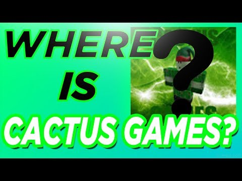 Where Is Cactus Games?