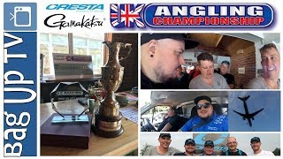 UK Angling Championship 2018 - Round 1 at Gold Valley Lakes - BagUpTV - Live Match Footage