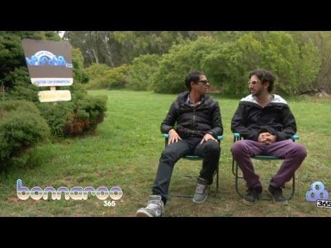Big Gigantic - Fan Chat @ Outside Lands 2012 | Bonnaroo365