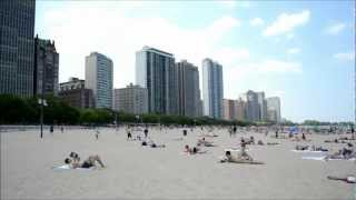 Lake Front Beach in Chicago, Il (Michigan Lake)
