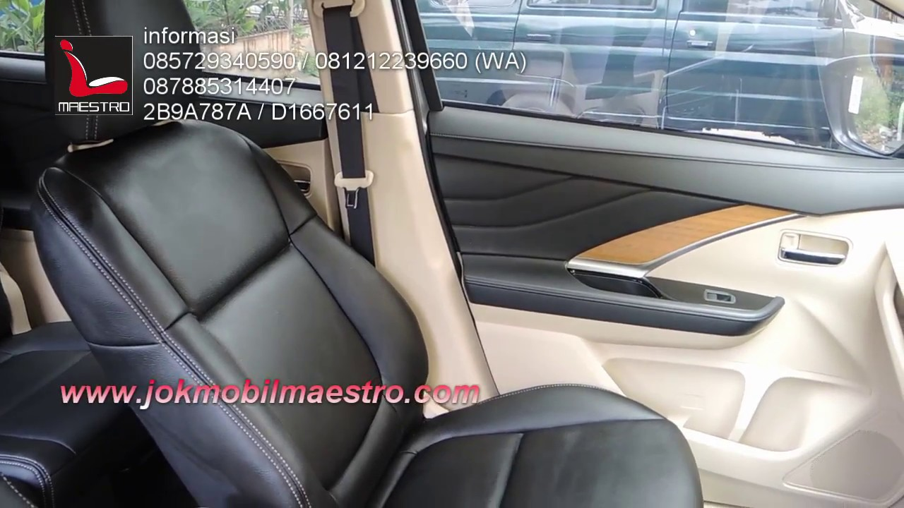 Jok Warna Hitam Mitsubishi Xpander Ultimate