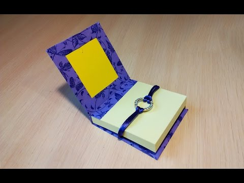 DIY mini DIARY in 3 minutes. Ideas for gift. Mini notebook portatili Tutorial