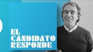 """Sergio Fajardo   """"Vamos a ganar en la primera vuelta""""   #Elcandidatoresponde   El Espectador"""
