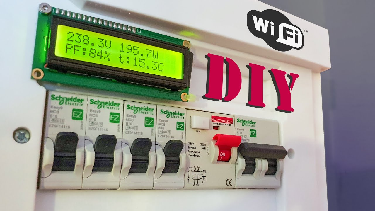 Download DIY Smart Distribution Board with Wi-Fi | IoT Arduino Project