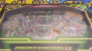 [Coffret Pokémon Rayquaza EX Chromatique]. Le pactole, c