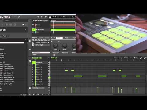 Maschine - How to add instruments to your sampled beat