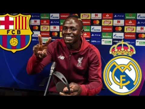 🚨Liverpool: Sadio Mané, bientôt au Barça plutôt qu'au Real Madrid!!!