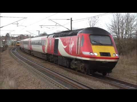 Trains at Grantham 3/1/17