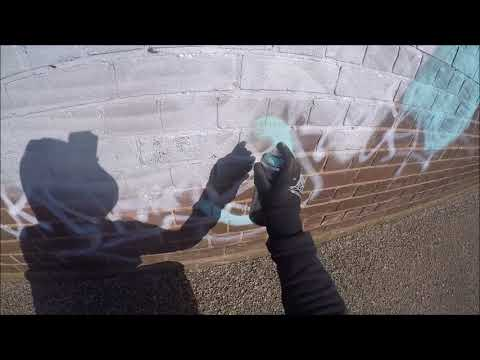 Graffiti - Ghost EA - Canal Bombing