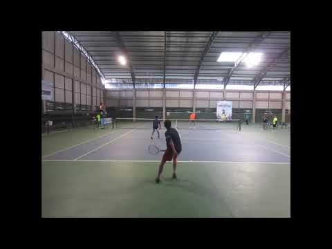 Kalahkan Ardi/Aji, Iwan Go/Dewantoro Juara Ganda Putra Turnamen Tenis Bupati Cup Tulungagung 2020