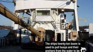 USCG 180-foot buoy tender tour