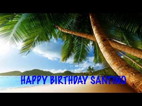 Santino  Beaches Playas - Happy Birthday