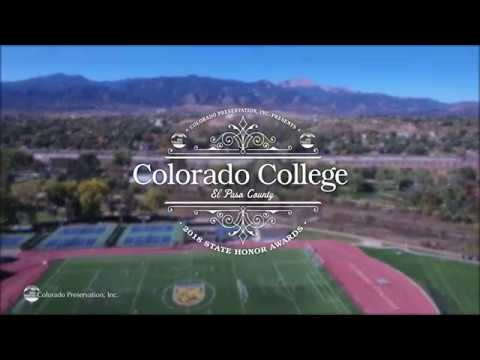 2018 State Honor Award - Colorado College