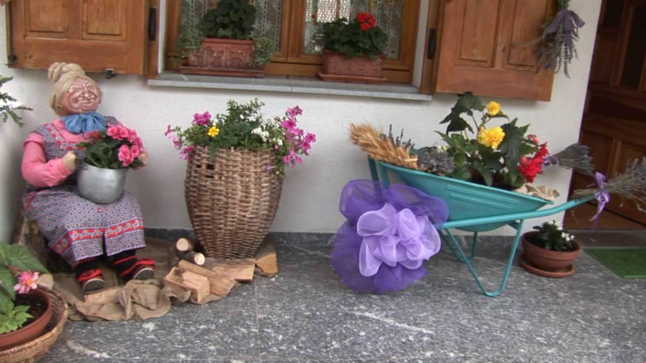 Balcone Fiorito a Ovedasso - YouTube