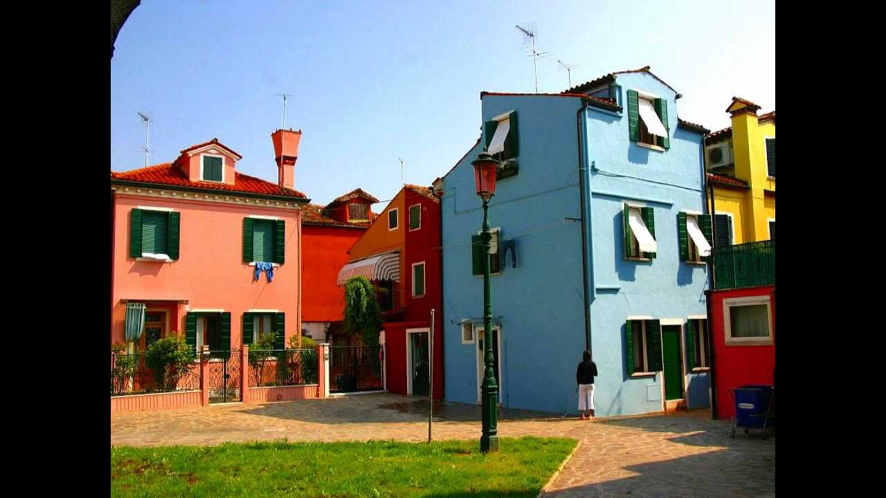 I colori di Burano e le sue case colorate - YouTube