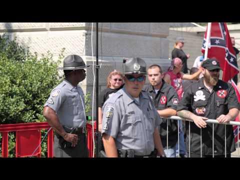 Ku Klux Clan Rally - Columbia South Carolina