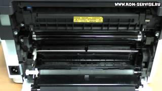 Как вытащить лист бумаги из принтера или МФУ  KYOCERA при замятии.