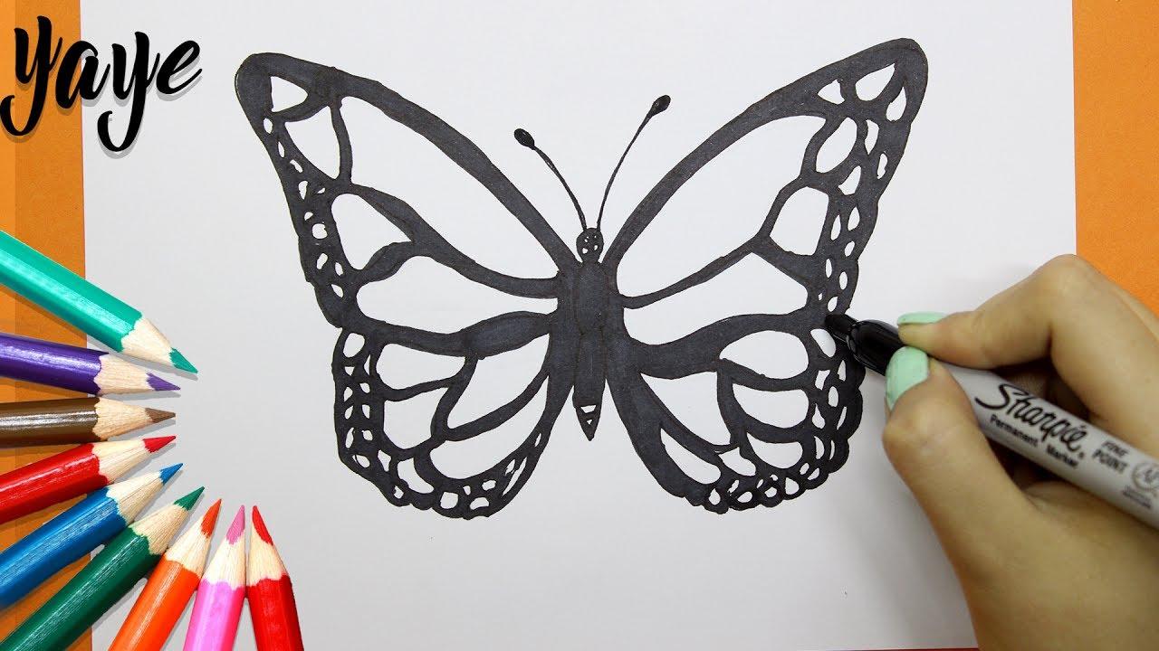 Realista Dibujos De Mariposas Hermosas