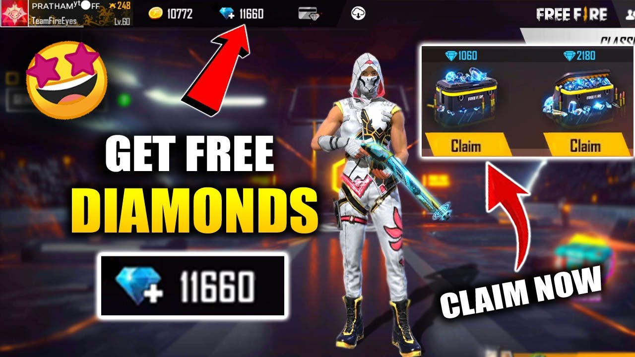 How To Get Free Diamonds In Free Fire Get Unlimited Diamonds In Free Fire Fireeyes Gaming Youtube