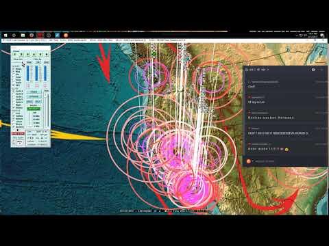 8/12/2017 -- Large M6.7 (M6.4) earthquake strikes during live EQ Update + Rare Brazil EQ