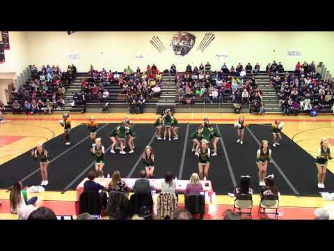 Bull Run Middle School Spirit Spectacular Cheer Competition 2018