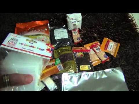 Long Term Food Storage Prepping with Mylar Bags, Beans, Rice and Spices