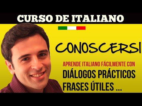 Видео Curso de italiano online gratis