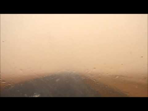 Crossing a sandstorm, road Akjoujt-Nouakchott, Inchiri, Mauritania 4/4