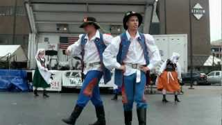 White Eagle Folk Dancers at Syracuse Polish Festival