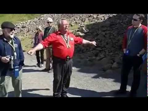 Giant's Causeway Ireland tour guide; one of the best guides in Western Europe