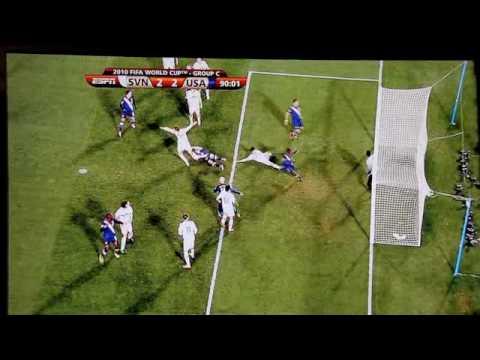 Edu Offsides call v. Slovenia - Disallowed World Cup Goal