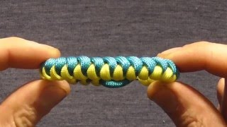 How To Make A Paracord Snake Knot Survival Bracelet Without A Buckle