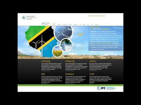 Tools and Resources for Scaling-up Mini-/Micro-Grids in Tanzania