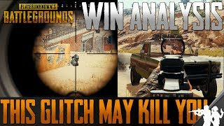 This Glitch Might be Getting You Killed | Guide/Analysis How to Win a Chicken Dinner in PUBG