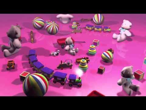 Mozart Effect, Toys, Around Train and Teddy Bears. Baby sleeping music. Lullaby by Baby Mozart
