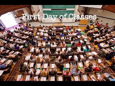 First Day of Classes || UW-Madison