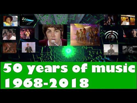 50 years of music! 19682018