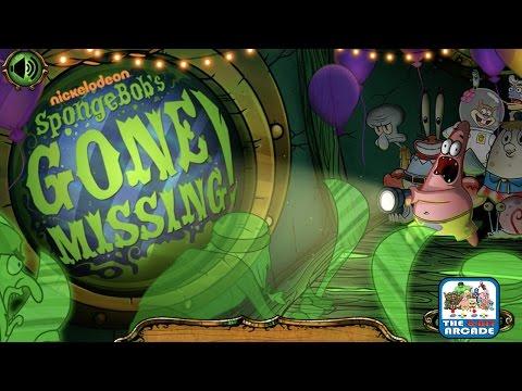 SpongeBob's Gone Missing! - Help Patrick Find His Best Friend (Nickelodeon Games)