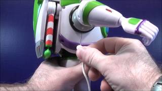 disney s toy story power blaster buzz talking action figure toy review
