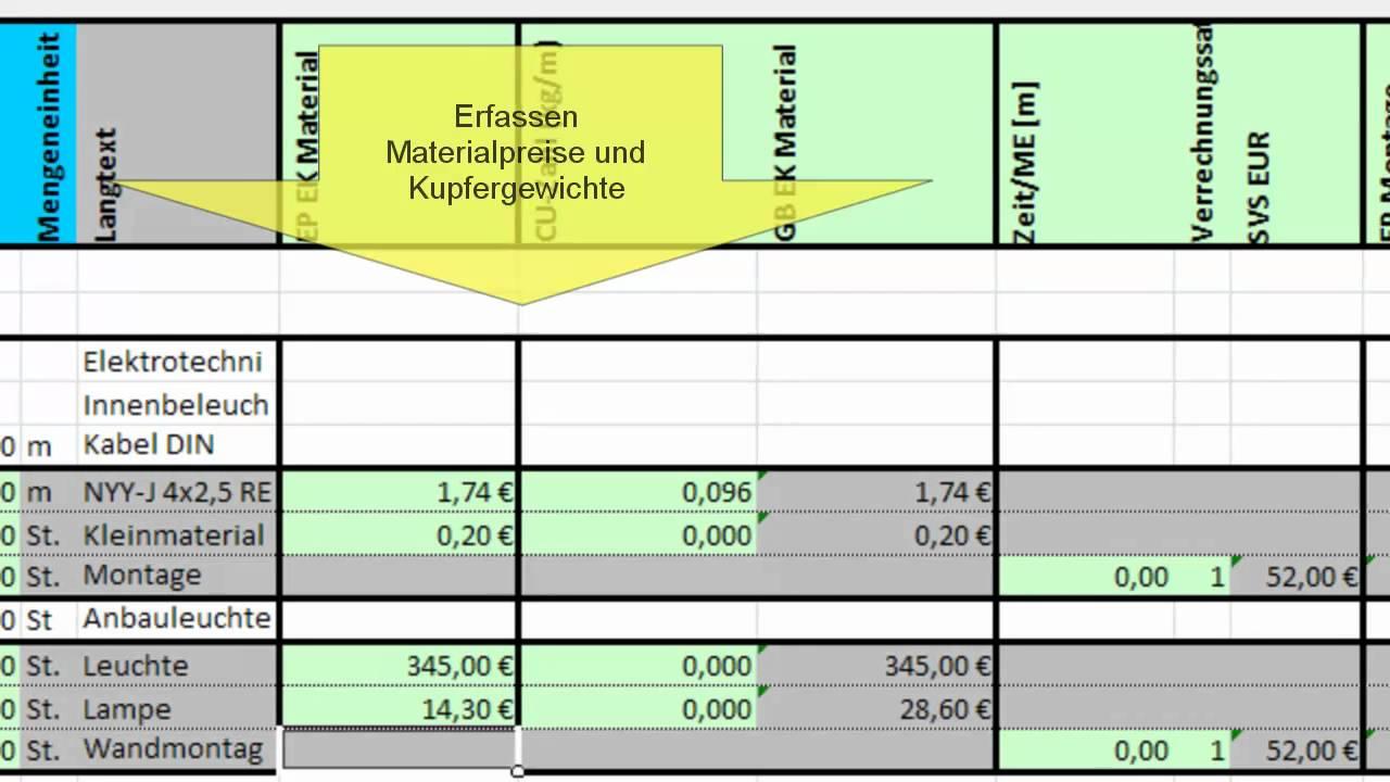 Muster Leistungsverzeichnis Mittel Fur Objekte 7 7