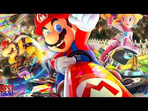 Mario Kart 8 Deluxe - 200cc ALL TRACKS (Full Game, Every Grand Prix Cups)