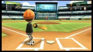 Wii Sports Baseball Skill Level Comparison.