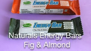Naturals Fig & Almond Energy Bars