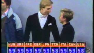 1984 Winter Olympics - Ice Dance Compulsory Dances Rhumba - Part 1