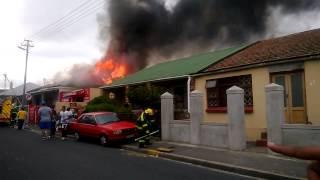Fire in cape town witteboom