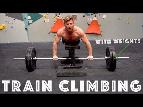 TRAIN CLIMBING WITHOUT CLIMBING | TUTORIAL